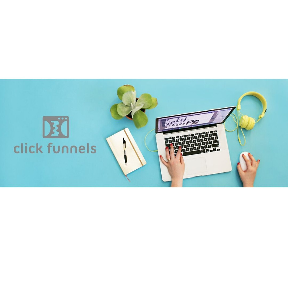this image shows clickfunnels for bloggers