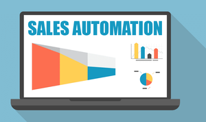 this image shows sales automation