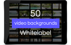 This image shows the White label software available if you purchase videoflow using our link