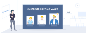 this image shows customer lifetime value