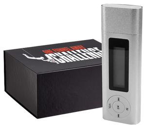 this image shows the one funnel away challenge mp3 player