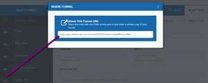 this image shows clickfunnels sharefunnels