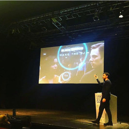 One of the days we were on stage as Keynote Speaker – www.futurizm.org