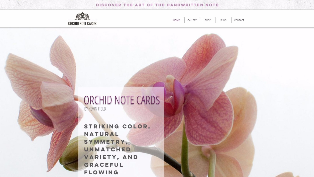 OrchidNoteCards