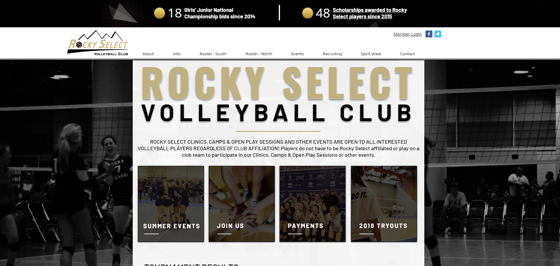 Rocky Select Volleyball
