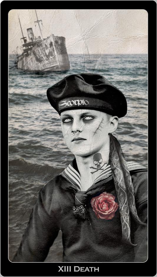 Death Tarot Card | © 2018 Jacqueline Stuart