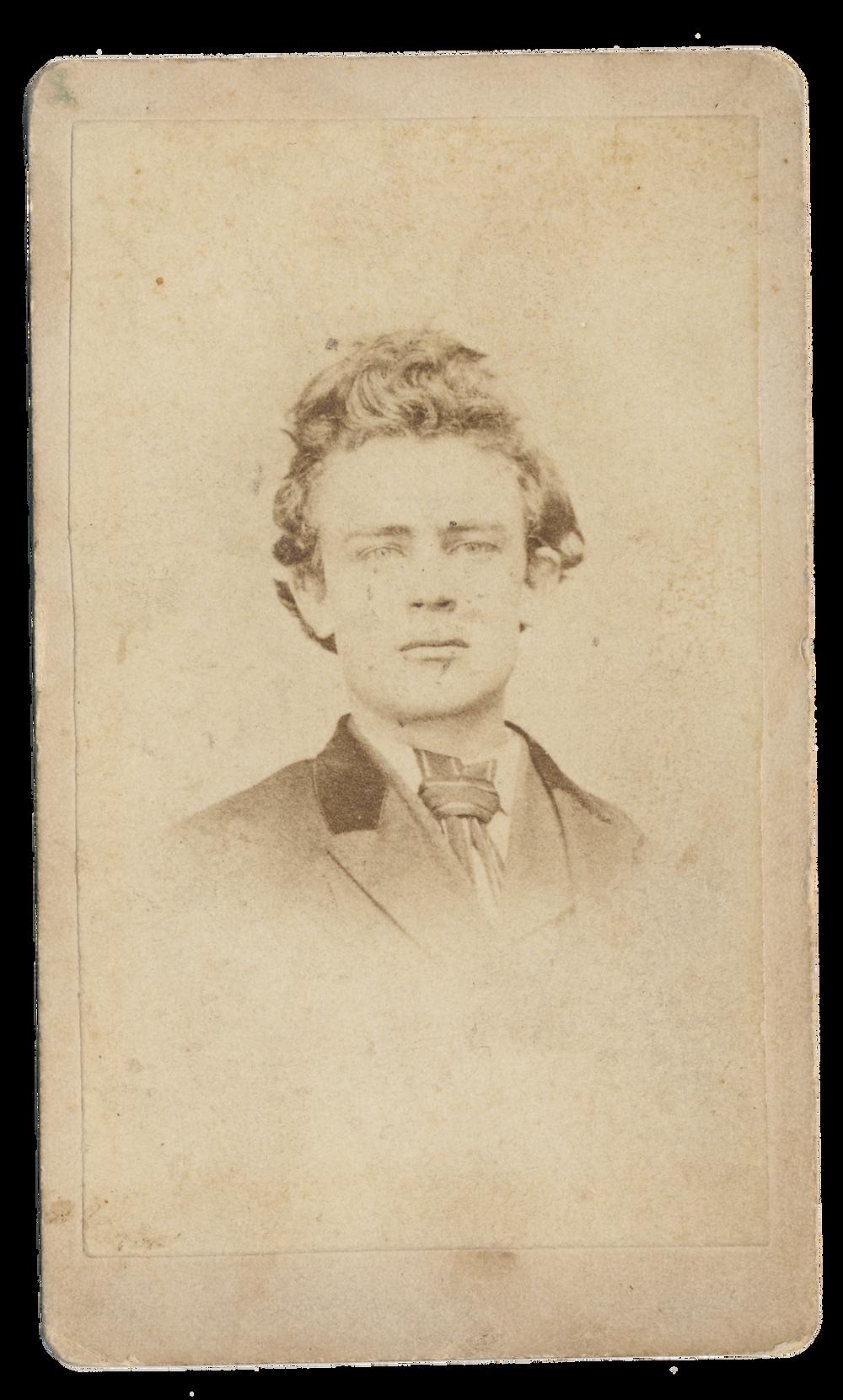 American gentleman also, c. 1850s - 1890s, original carte de visite | Purchased 2011, Stuart Archive.