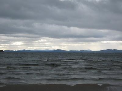 Lake Champlain in November