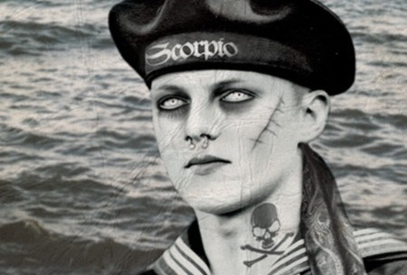 Transforming a Kriegsmarine Sailor into a Goth with an Aphrodisiacal Mensur Scar