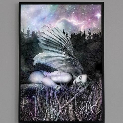 Earthing | Goddess Gaia | Fine Art Archival Print | Mystical + Visionary Art