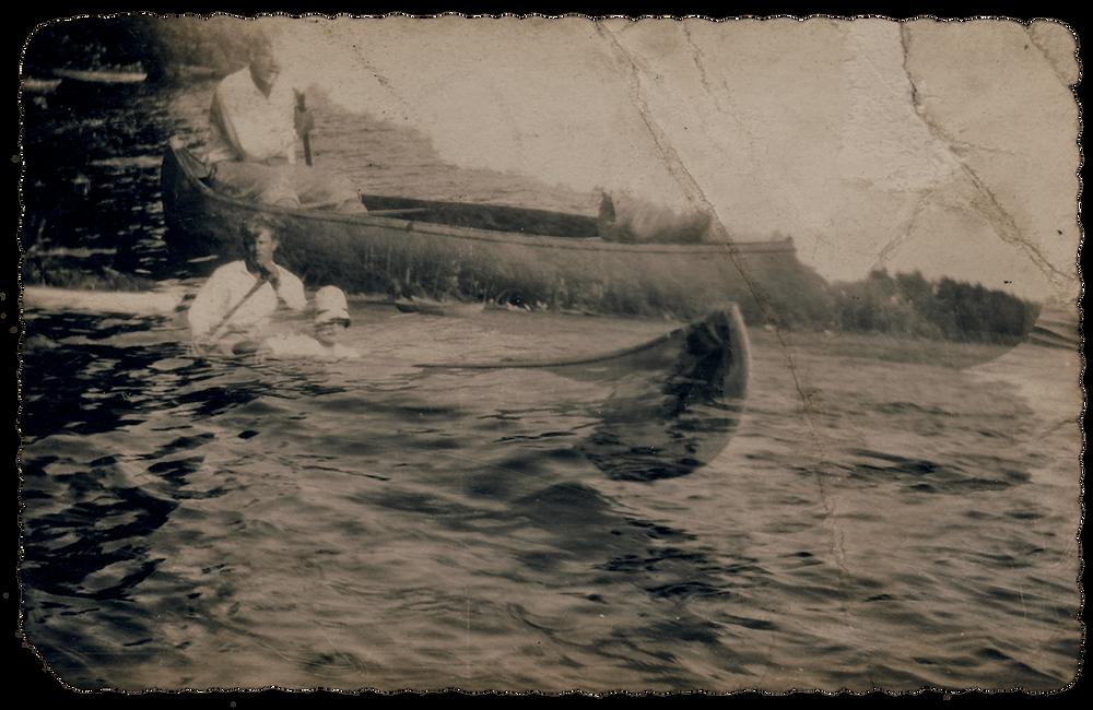 Couple on Canoe | Dreams nad Shadowlands | Jacqueline Stuart