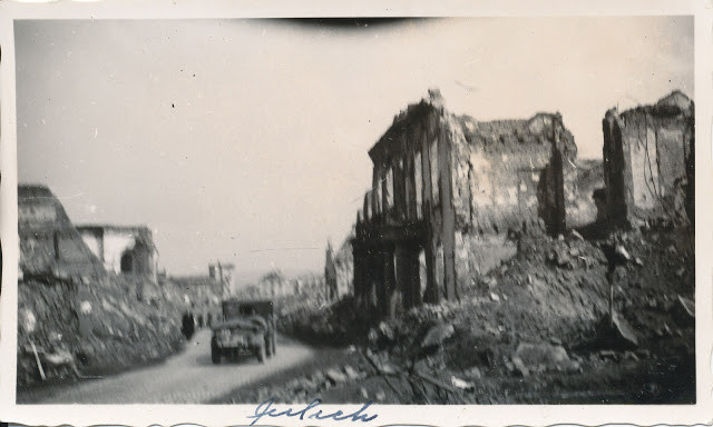 Bombed out German city, taken by GI in 1945. Stuart Archive.
