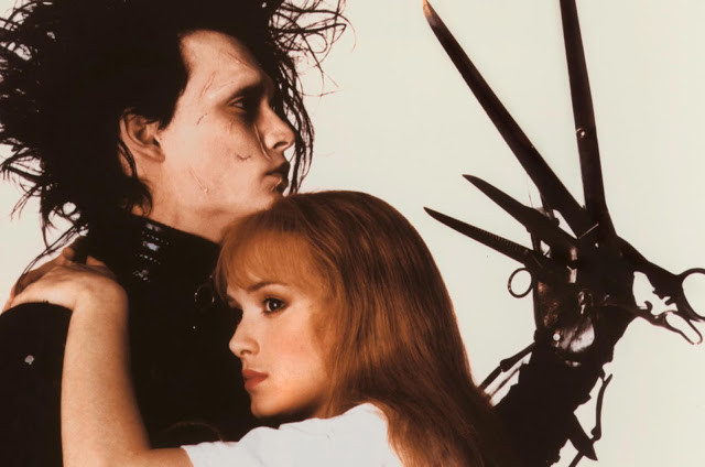 Edward Scissorhands sporting self-inflicted Mensur-esq scars.