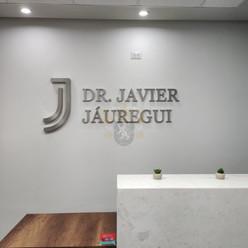 Letrero Dr Jauregui