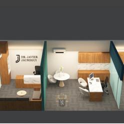Diseño en 3d Consultorio - 02