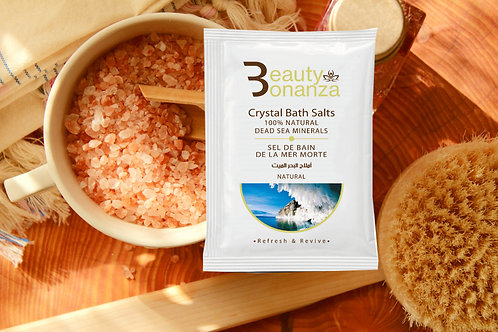DEAD SEA SALTS BATH CRYSTALS WITH LAVENDER