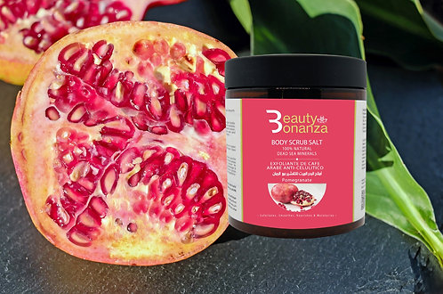 POMEGRANATE BODY SCRUB WITH DEAD SEA MINERALS
