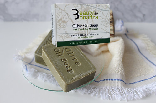 OLIVE OIL SOAP WITH DEAD SEA MINERALS