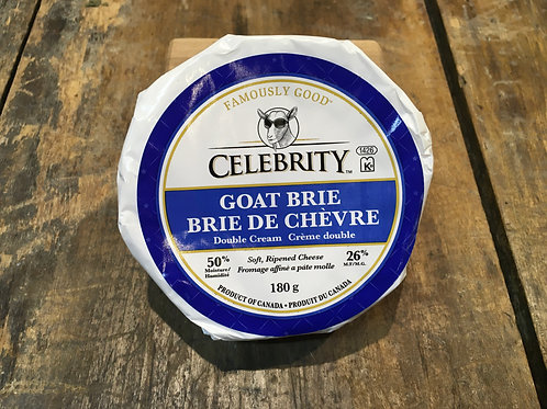 Goat Brie- Celebrity