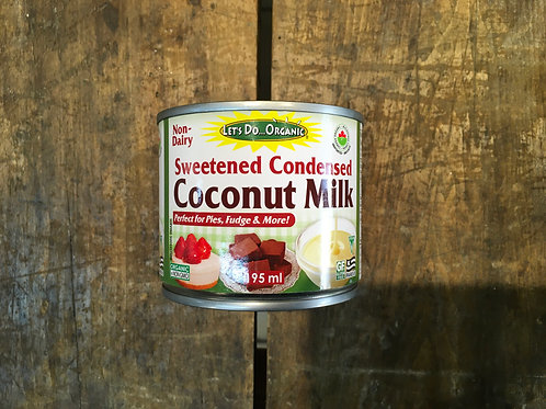 Coconut-Sweetened Condensed Milk- Lets Do