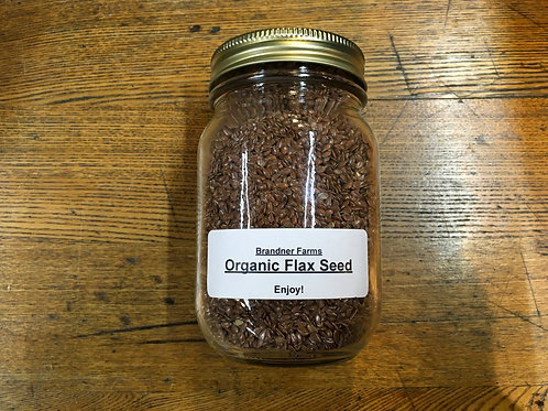 Flax Seeds (dried/500ml jar)