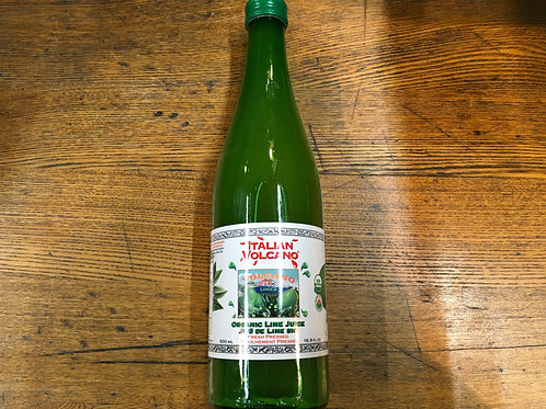 Juice Lime- Italian Volcano- 500ml