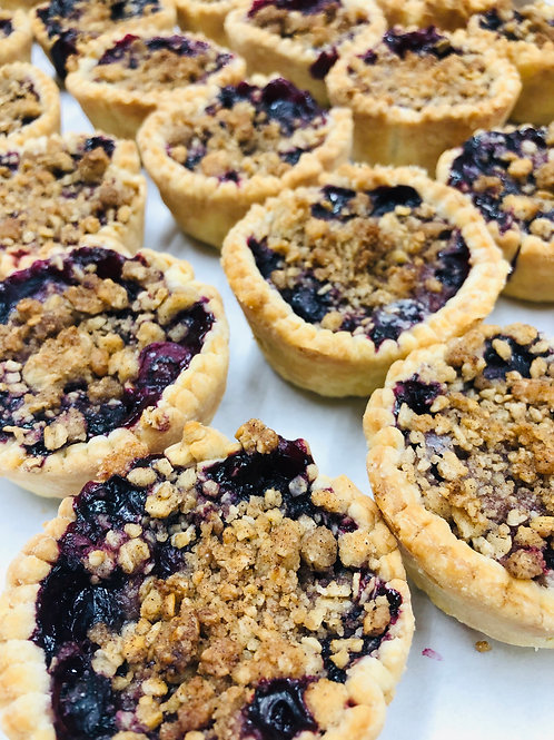 Tart Blueberry (Tray of 6)