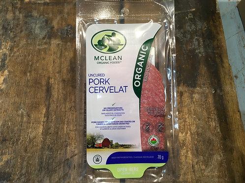 McLean-Pork Cervelat/Pkg