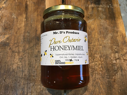 Honey-Mr.D's Produce