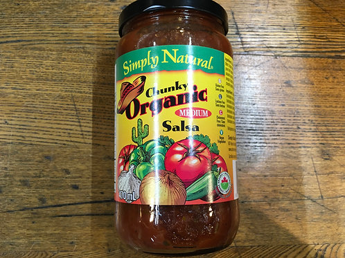 Salsa- Chunky, Medium- Simply natural