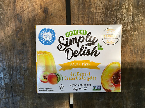 Jello-Peach - Simply Delish