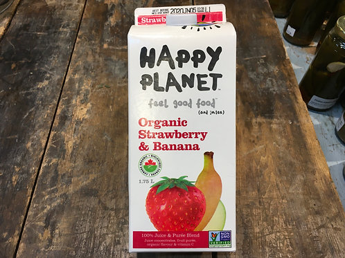 Juice Strawberry Banana- Happy Planet