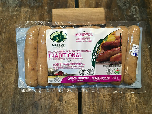 McLean-Breakfast Sausage Traditional/Pkg