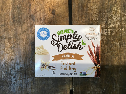 Pudding-Vanilla - Simply Delish