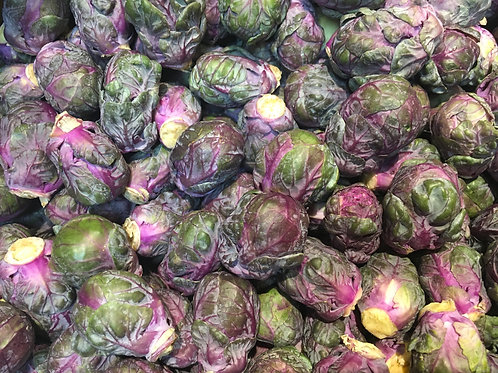 Brussel Sprouts Purple/Lb (1Lb bag)