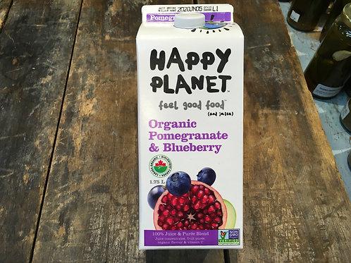 Juice Pomegranate Blueberry-Happy Planet