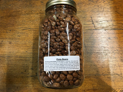 Beans- Pinto (dried/1Lt jar)