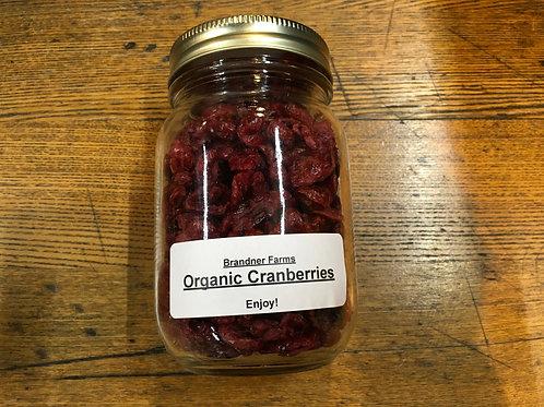 Cranberries- (dried/500ml jar)