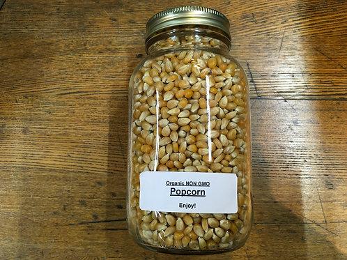 Popcorn - Non GMO (1Lt jar)