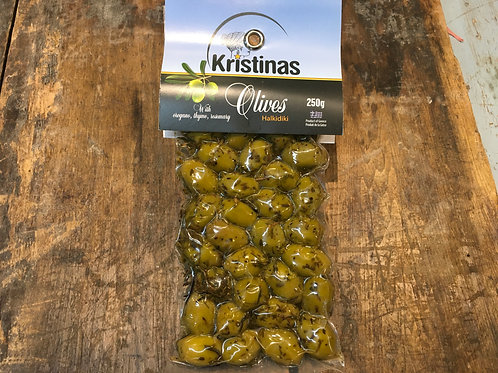 Olives Kristinas-green 250 g