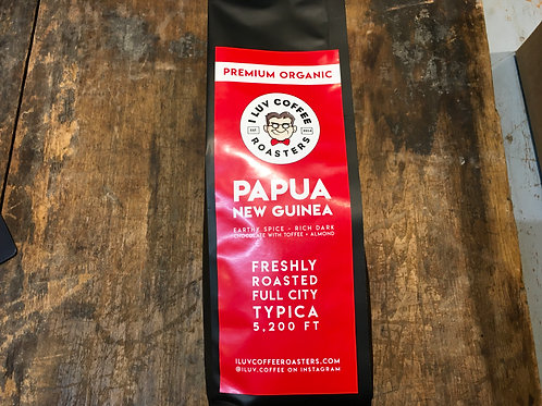 Coffee (I Love Coffee) Papua New Guinea