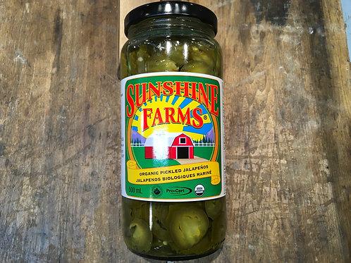 Pickled Jalapenos - Sunshine