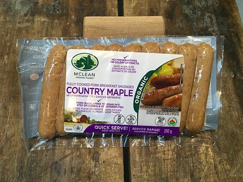 McLean-Breakfast Sausage Maple/Pkg