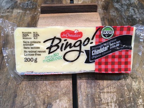 Bingo - Cheddar Extra Old 200g
