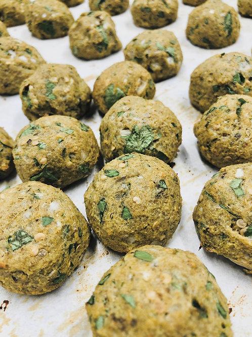 Veggie Egglpant Balls (16/tray)