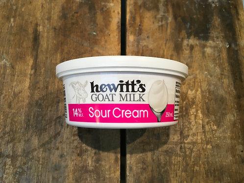 Sour cream - Goat (Hewitt's)