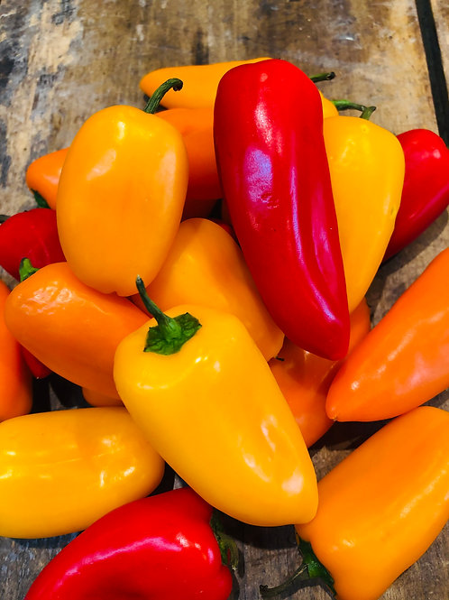 Peppers - Mini Mix (8oz pkg)