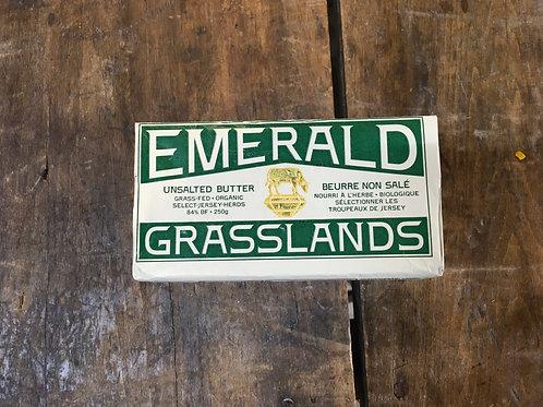Butter- Unsalted 250g (Emerald Grasslands)