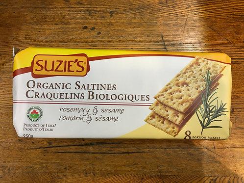 Crackers- Susies-Rosemary Sesame