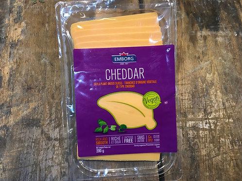 Emborg Vegan Cheddar Slices